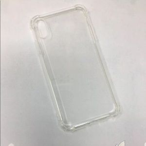 Iphone XS clear soft shell phone case